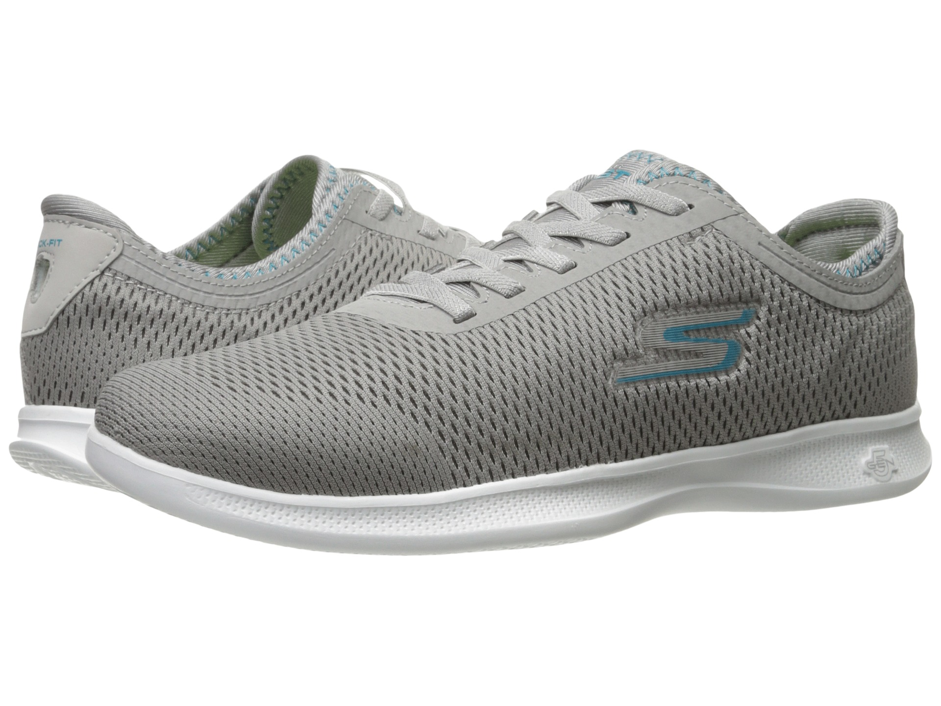 cac1f16130d0 SKECHERS Performance Go Step Lite - Persistence Gray Turquoise ...