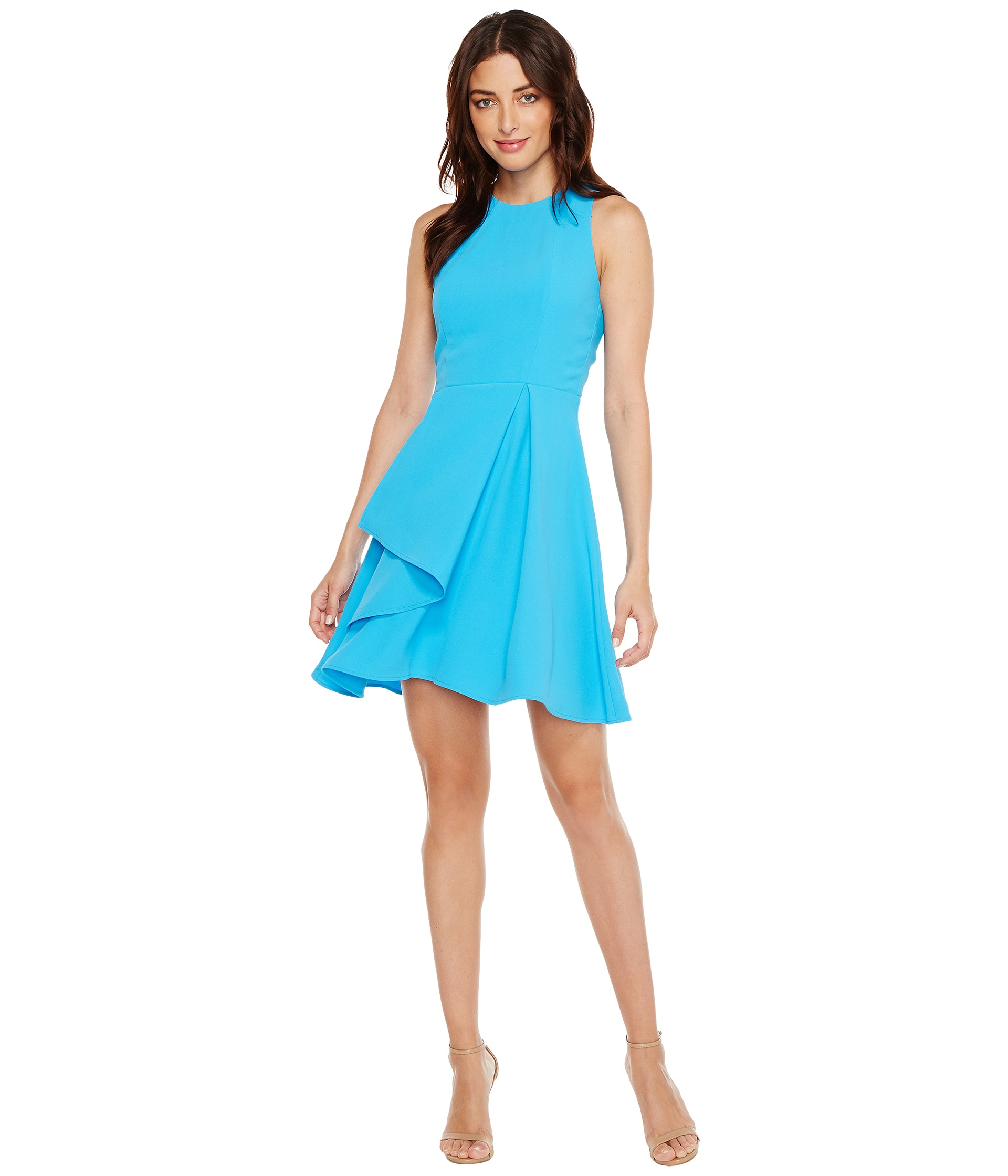 Adelyn Rae Athena Woven Fit And Flare Dress At Zappos Com