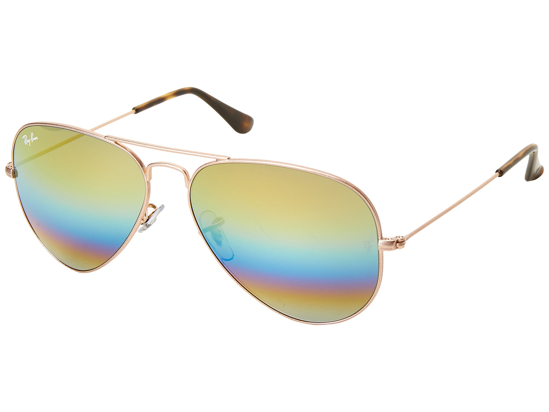 1d6afd8734 Ray-Ban RB3025 Original Aviator 62mm at bitterrootpubliclibrary.org. Fancy  - Ray-Ban Outdoorsman II Rainbow Sunglasses