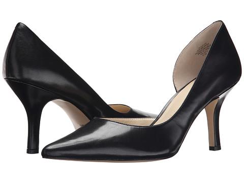 9751ca0b6570 Anne Klein Christa Black Leather - Stylish Women s Heels