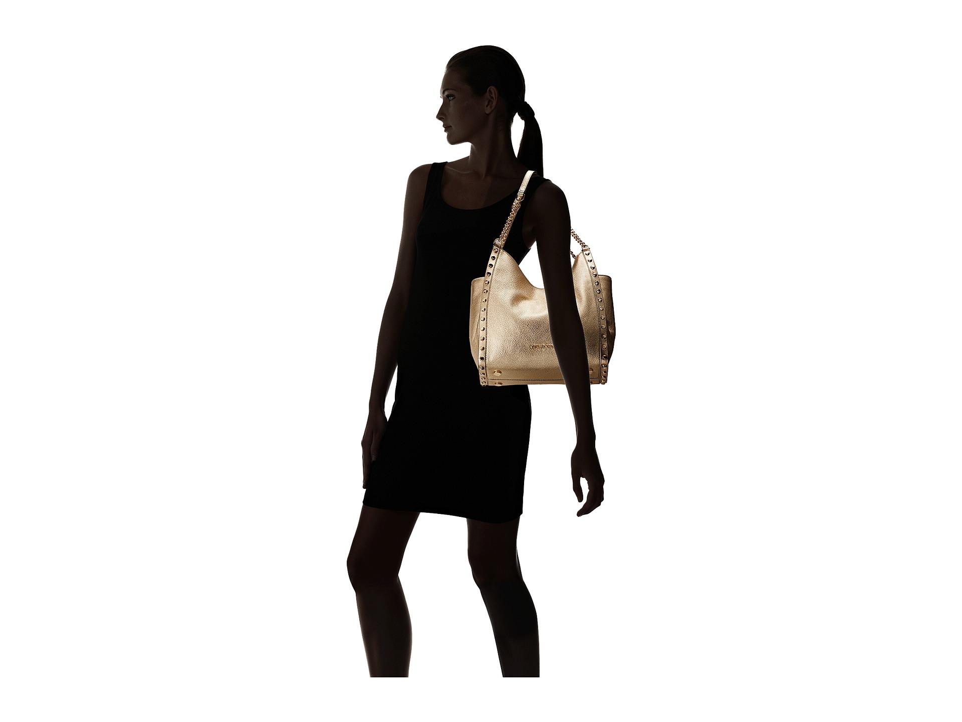 6b525ee507f9a0 ... Best Michael Kors Marina Tote Stripe Grab Bag Redwhite Handbags Review  Video . ...