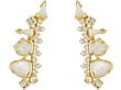 Gold/Ivory Color Mix Cubic Zirconia