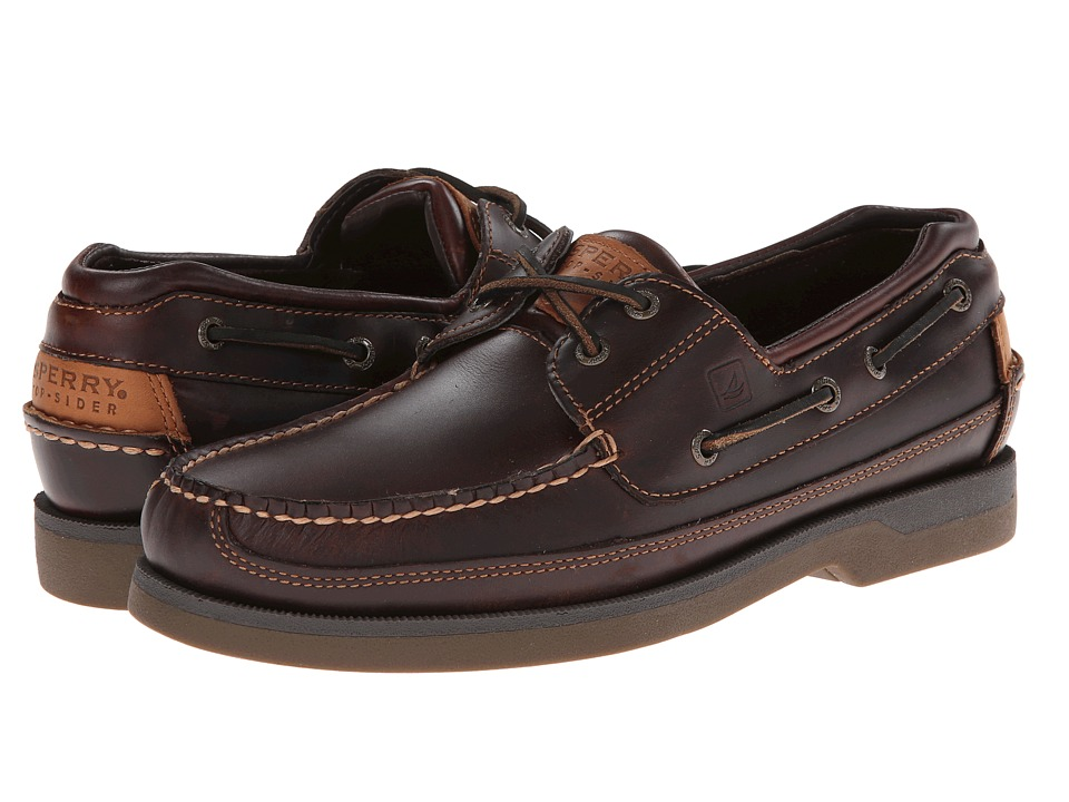 Sperry Top Sider Men S Mako  Eye Canoe Moc Lace Up Shoe