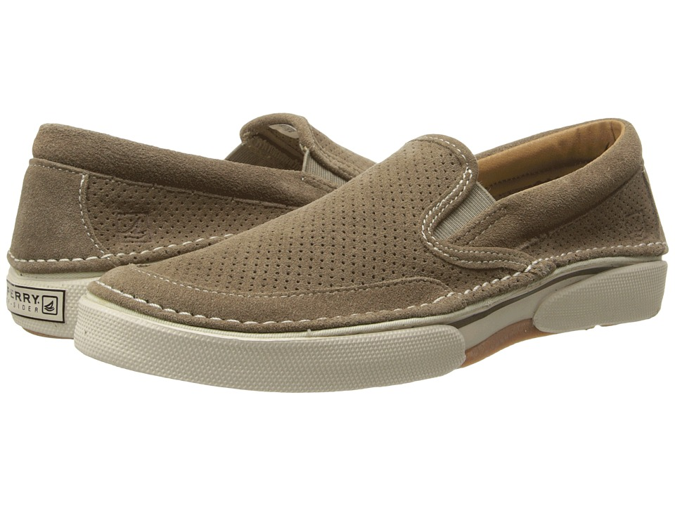 Mens Brown Slip On Shoes Suede