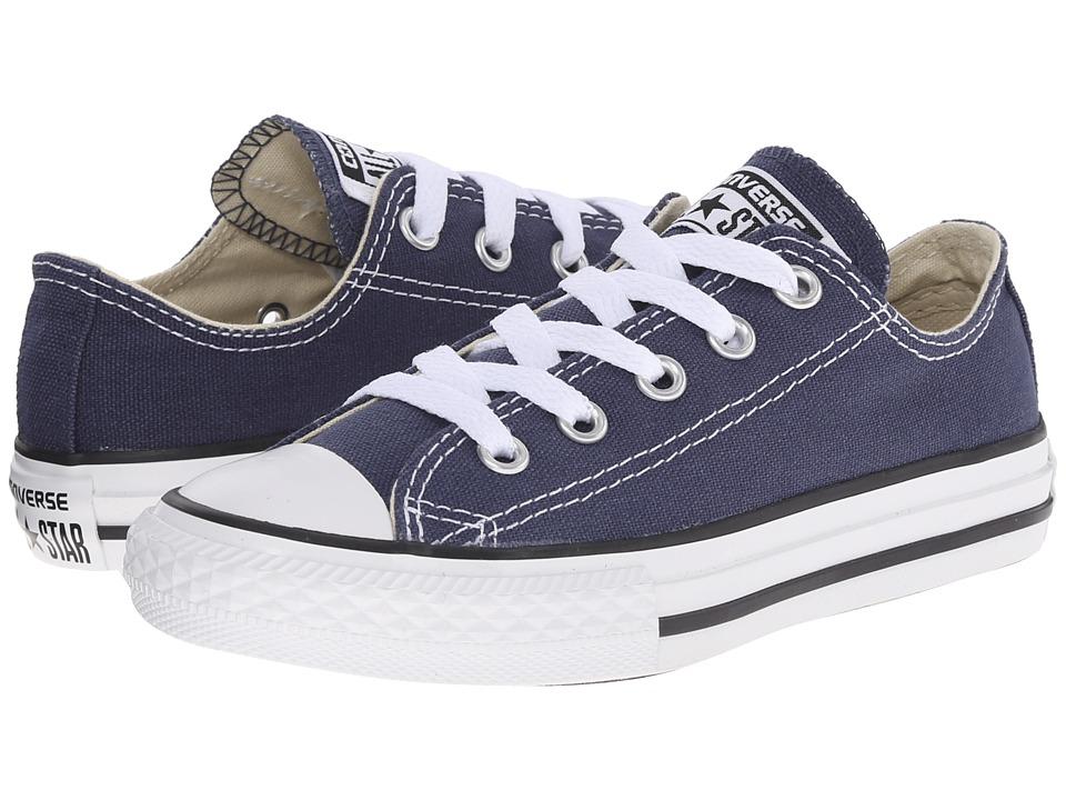 Converse Kids - Chuck Taylor All Star Core Ox (Little Kid) (Navy) 6514572d5