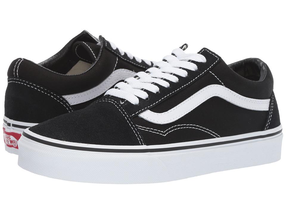 86b00aa3b9 UPC 700053803862. Vans Unisex Old Skool Black White Skate Shoe 8.5 Men US    10 ...