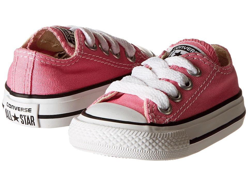 d7d9d16cad8cf9 Converse Kids - Chuck Taylor All Star Core Ox (Infant Toddler) (Pink