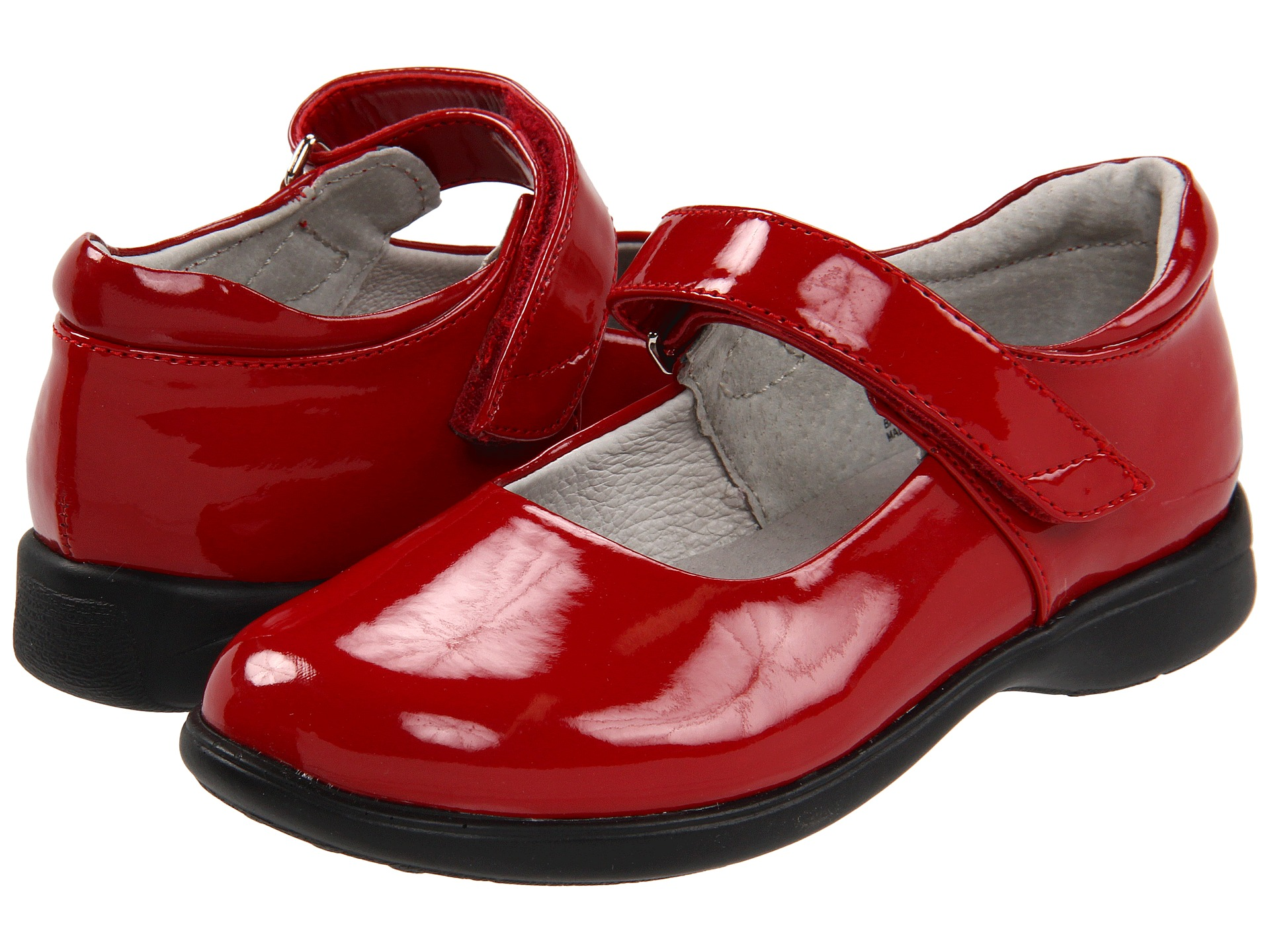 Shiny Red Toddler Shoes