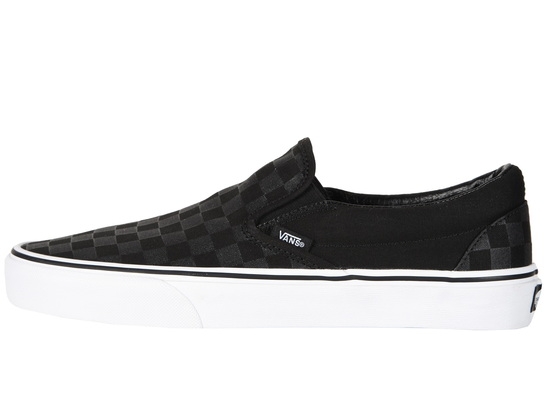 Vans Classic Perforated Leather Slip On Shoes Canada