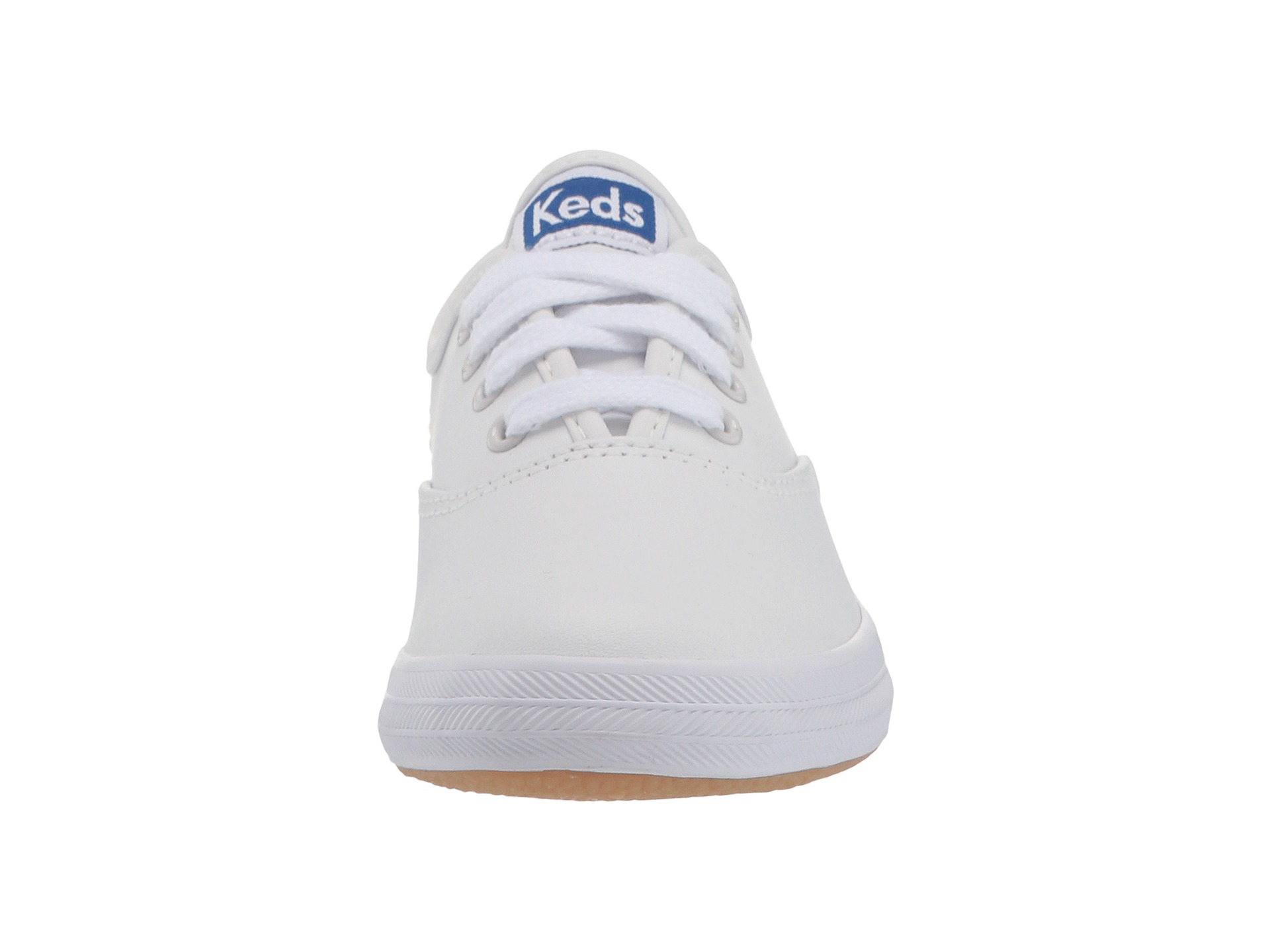 4f8fffd36d0190 Keds Kids Original Champion CVO (Little Kid Big Kid) White Leather ...