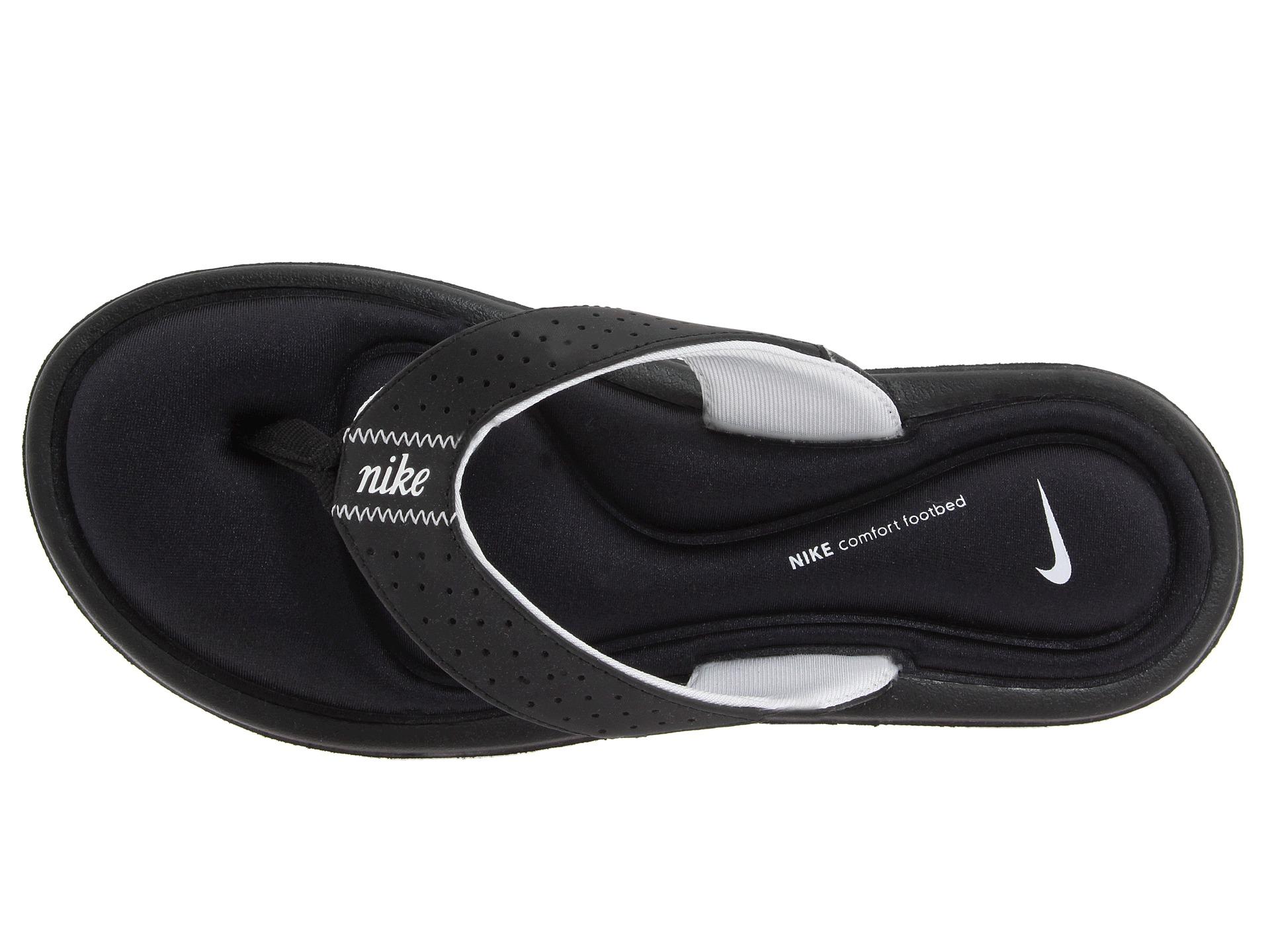 nike comfort footbed flip flops mens