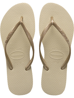 02806331858105 1Sale Havaianas Slim Flip Flops Sand Grey Light Golden - Cheap Women ...