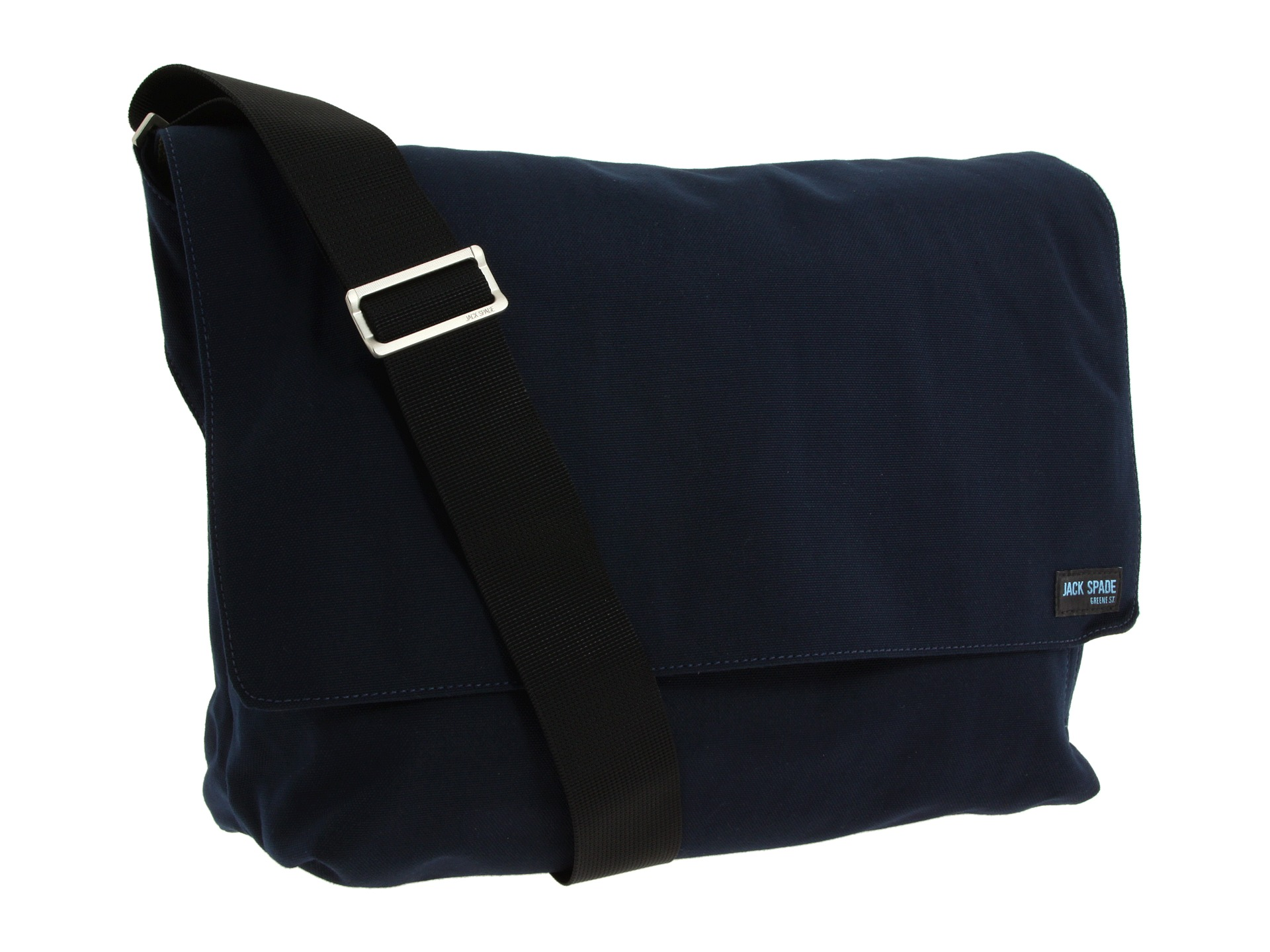 40d8b7034e1bb Jack Spade Nylon Canvas Computer Field Bag Navy on PopScreen