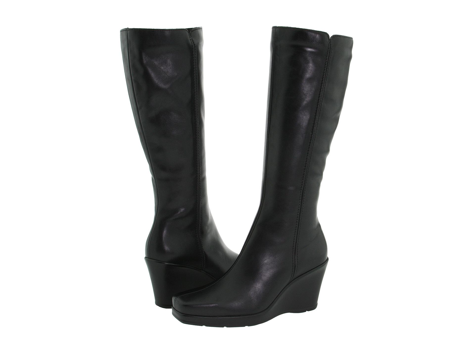 La Canadienne Ivana Black Leather Zappos Com Free