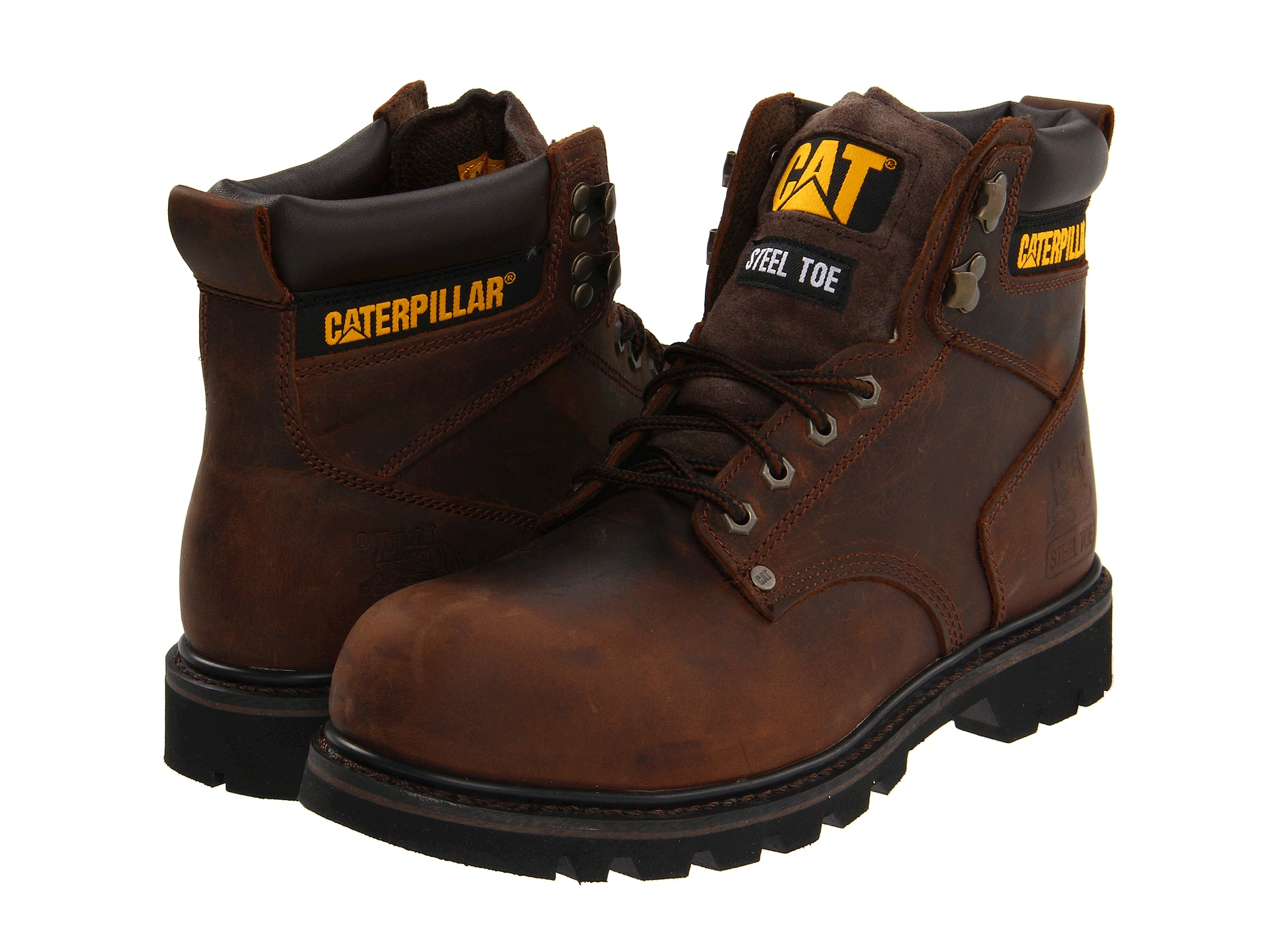 caterpillar nd shift steel toe com shipping both ways